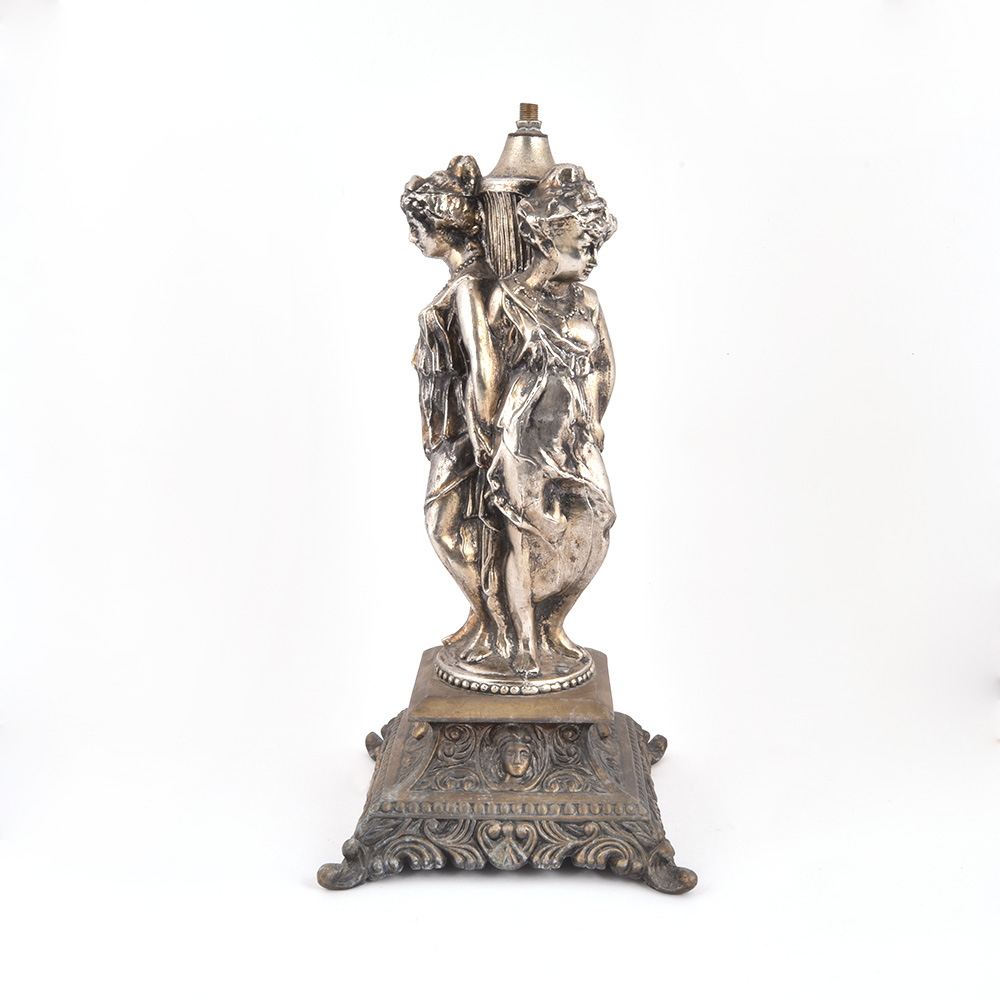 Two Classical Europe Sculpture Lamp