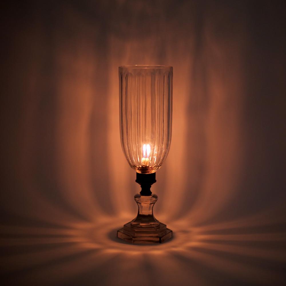 Vintage Glass Lamp.