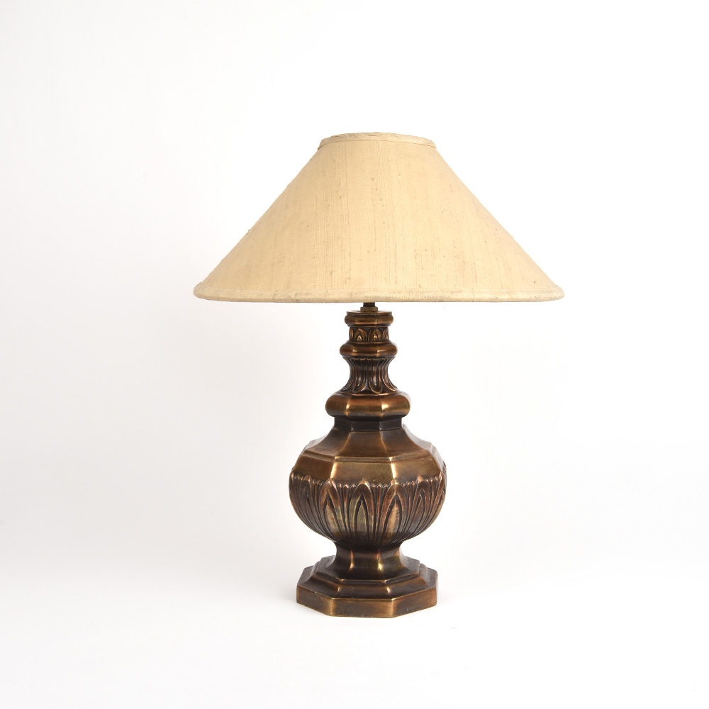 Solid Metal Table Lamp