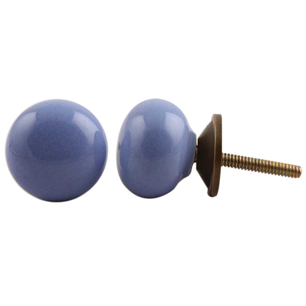 Slate Blue Knob Small