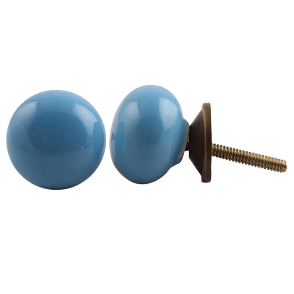 Sky Blue Knob Small