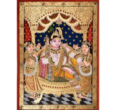 Tanjore Painting Of�Krishna