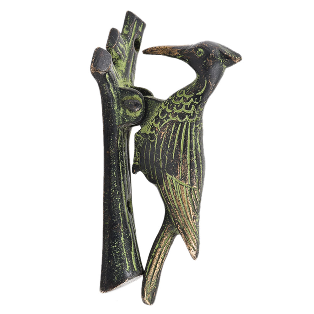Woodpecker Bronze Door Knocker