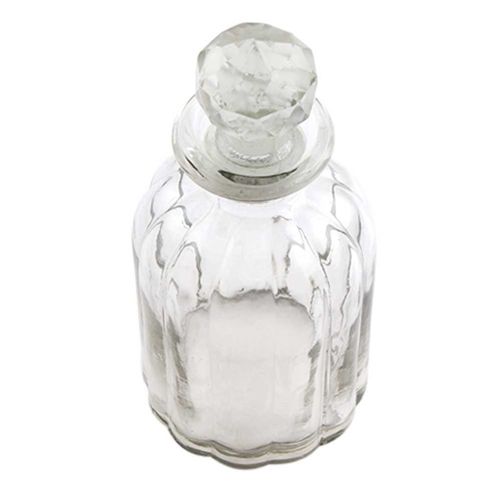 Oval Shape Decorative Glass Bottle Online