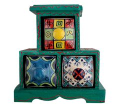 Spice Box-741 Masala Rack Container Gift Item