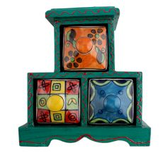 Spice Box-743 Masala Rack Container Gift Item