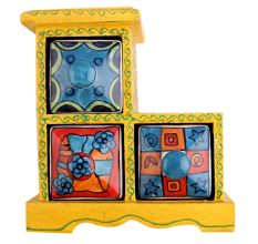 Spice Box-745 Masala Rack Container Gift Item