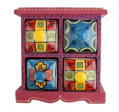 Spice Box-763 Masala Rack Container Gift Item