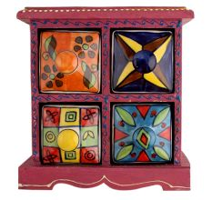 Spice Box-765 Masala Rack Container Gift Item