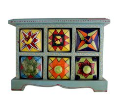 Spice Box-782 Masala Rack Container Gift Item
