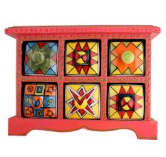 Spice Box-783 Masala Rack Container Gift Item