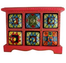 Spice Box-786 Masala Rack Container Gift Item