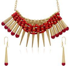 Urthn Alloy Jewel Set (Red)