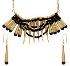 Urthn Alloy Jewel Set (Black)
