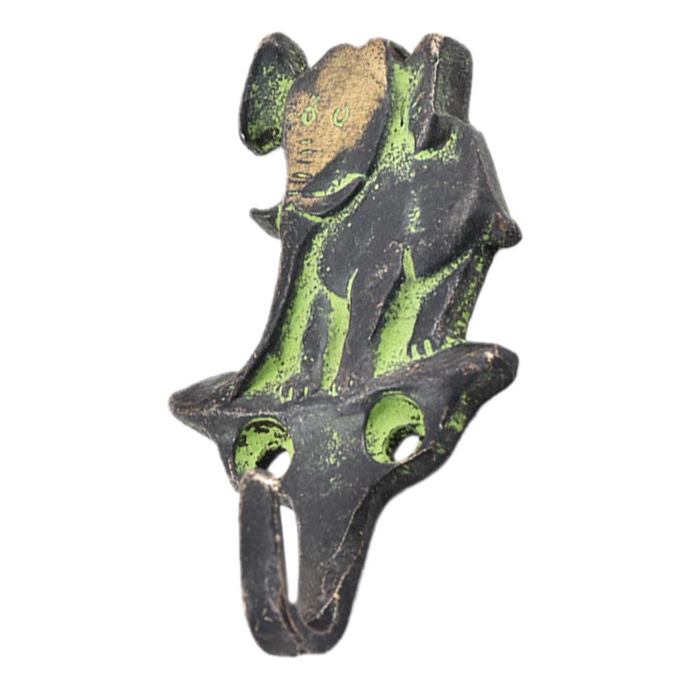 Wild Elephant Brass Metal Hooks