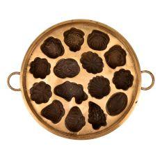Bronze Circular Appe Mould