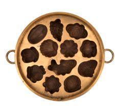 Bronze Circular Vintage Appe Mould