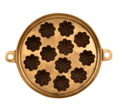 Bronze Circular Flower Shaped Appe Mould