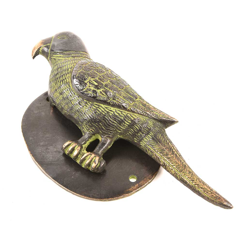 Bronze Parrot Door Knocker