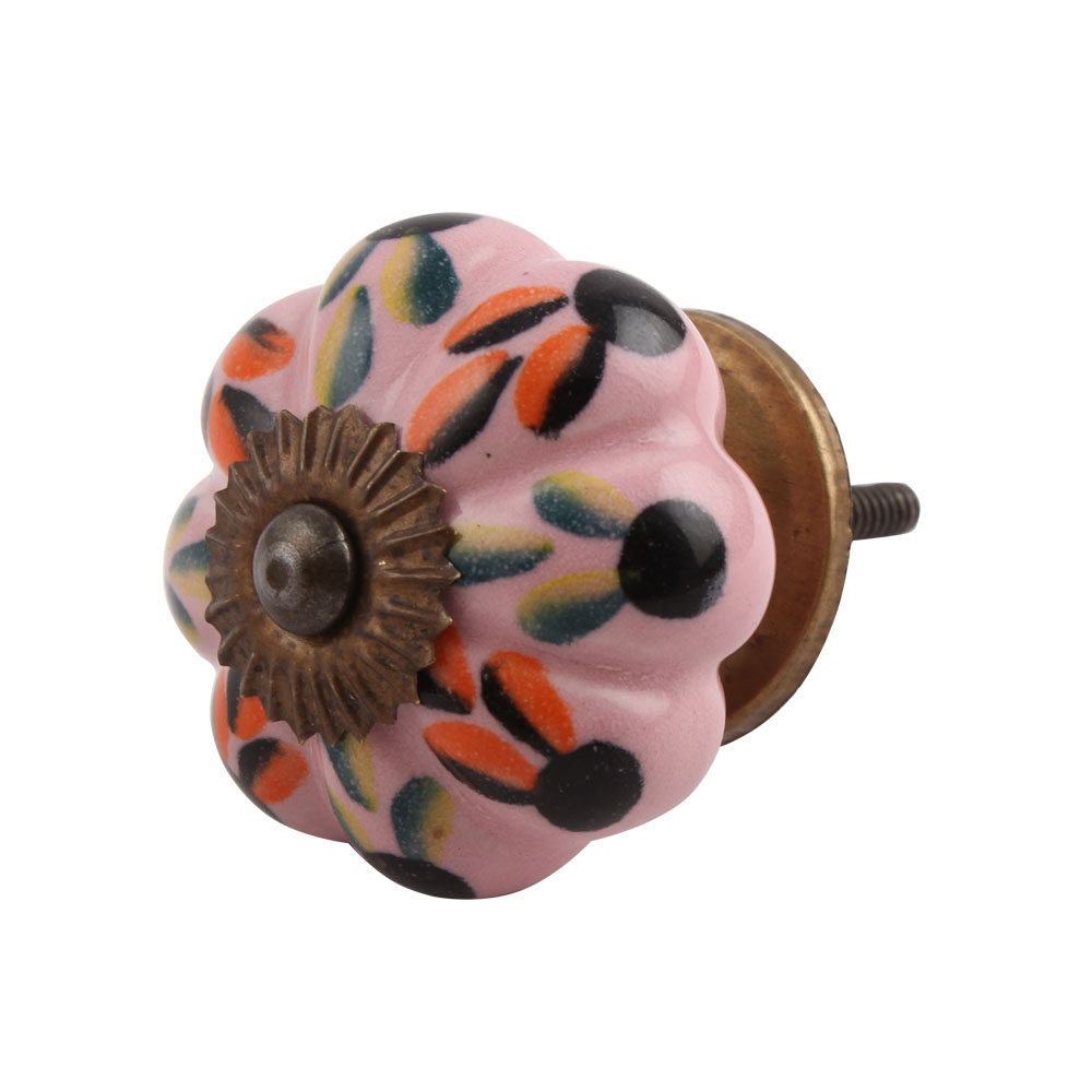 Mixed Color Leaf Knob