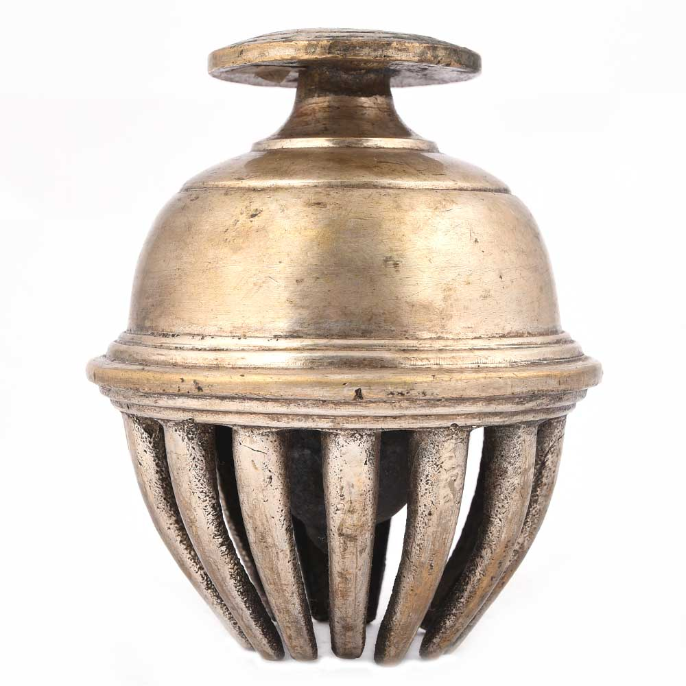 Solid Brass Elephant Claw Bell