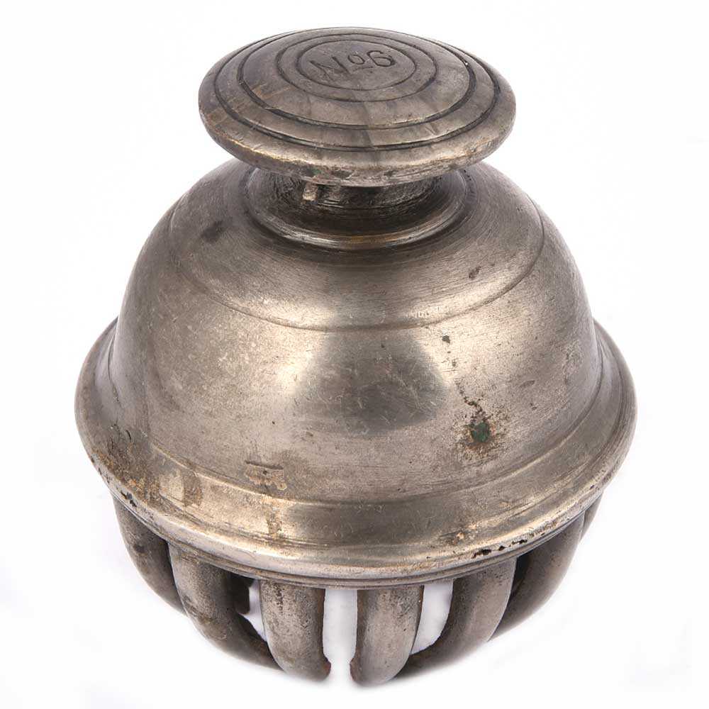 Vintage Brass Elephant Claw Bell