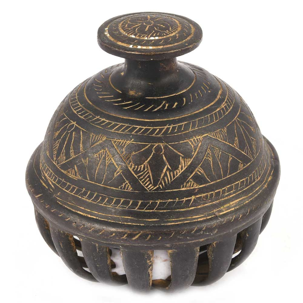 Brass Elephant Cage Bell