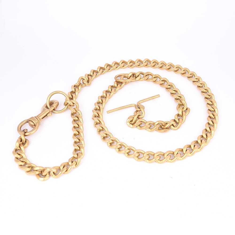Brass Dog Chain