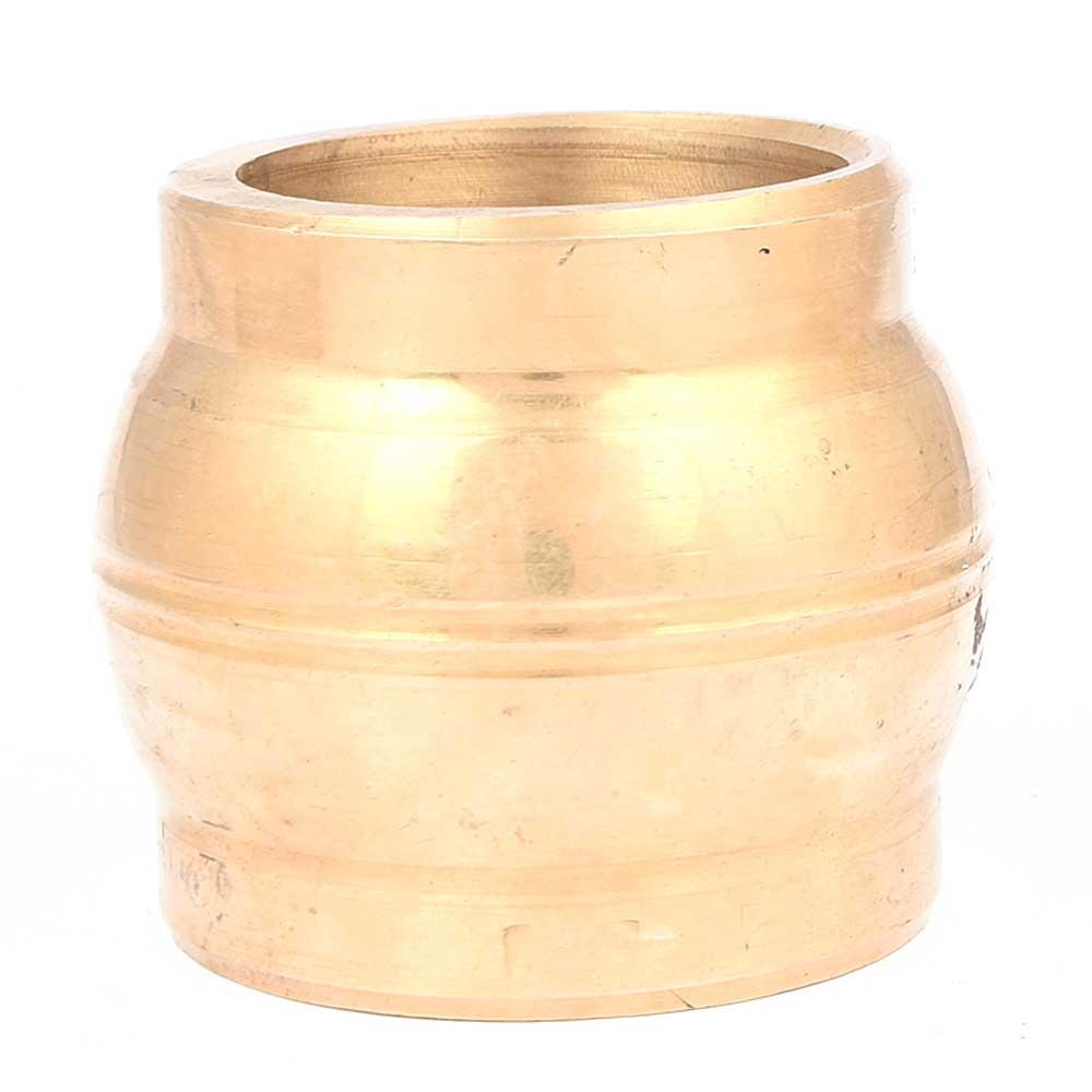 Mortar Pestle Brass Grind Food Crusher