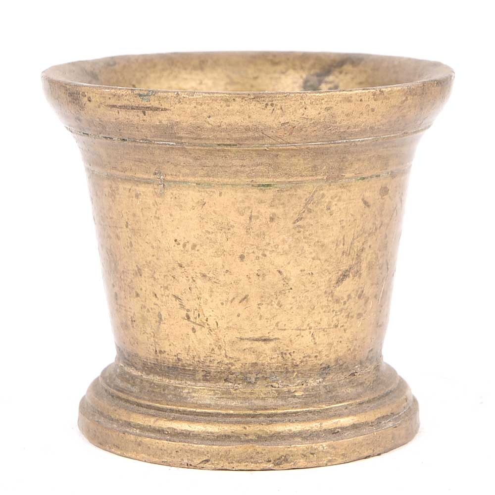 Brass Mortar Pestle