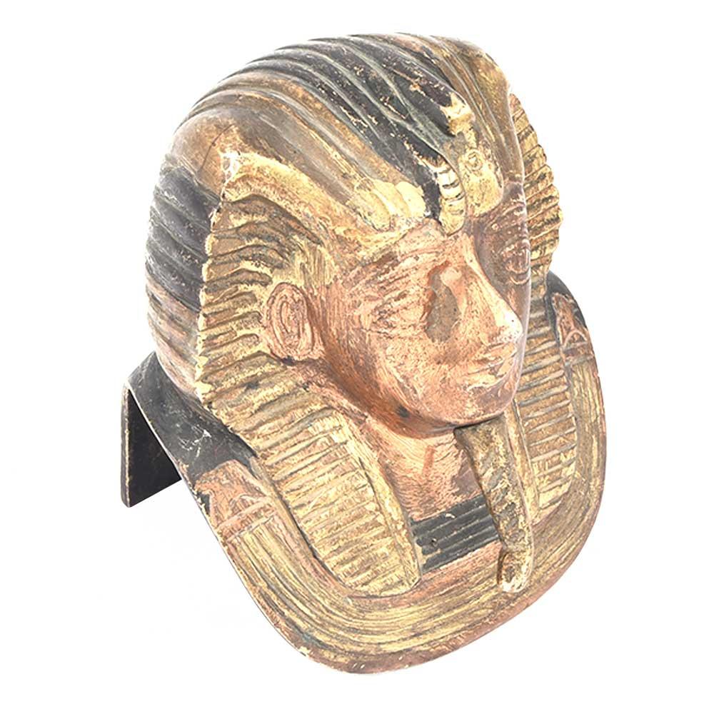 Egyptian Pharoah King Tut Bust Statue