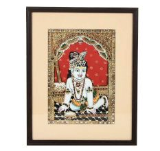 Tanjore Paintings Of Lord Shri Krishna 14