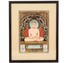 Mahaveer Ji Tanjore Painting14