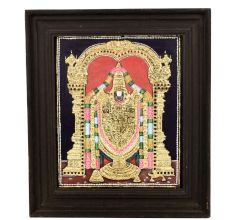 Tanjavur Painting Of Lord Balaji 15