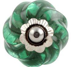 Mint Interior Cut Glass Dresser Knob Online
