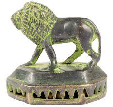 Lion Statue Skin Scrub Cleaner Feet Cleaner