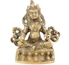 Lord Kuber Brass Sculpture