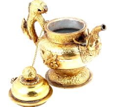 Brass Dragon Tea Pot