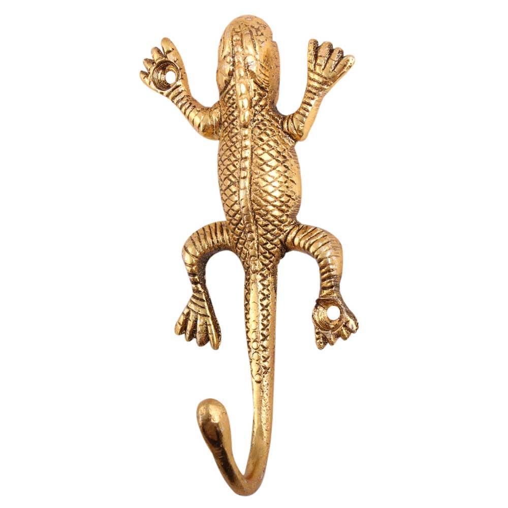Golden Aluminium Lizard Hooks