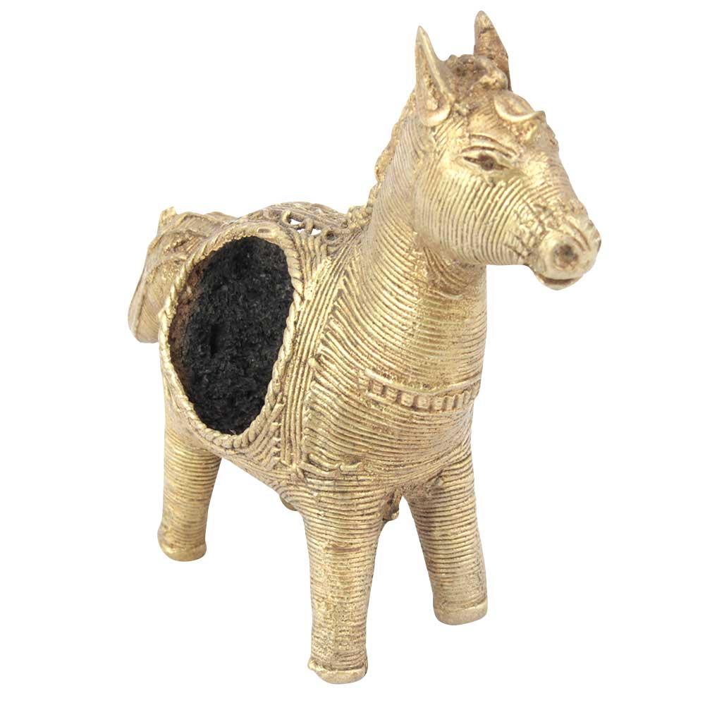 Dhokra Rural Horse Napkin Ring