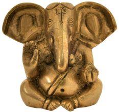 Brass Baby Ganesha Statue