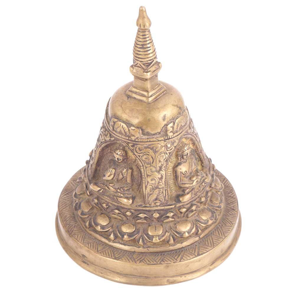 Brass Buddha Statue Dorje Vajra Bell