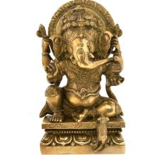 Bronze Vinayaka With An Arch