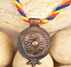 Bronze Pomegrante Shaped Pendant