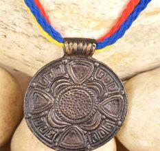 Brass Circle Pendant