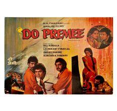Bollywood Original Movie Poster 80s