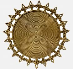 Miharu Dhokra Coil Trivet