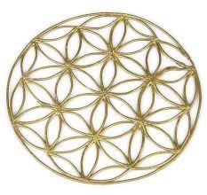 Dhokra Net Floral Trivet
