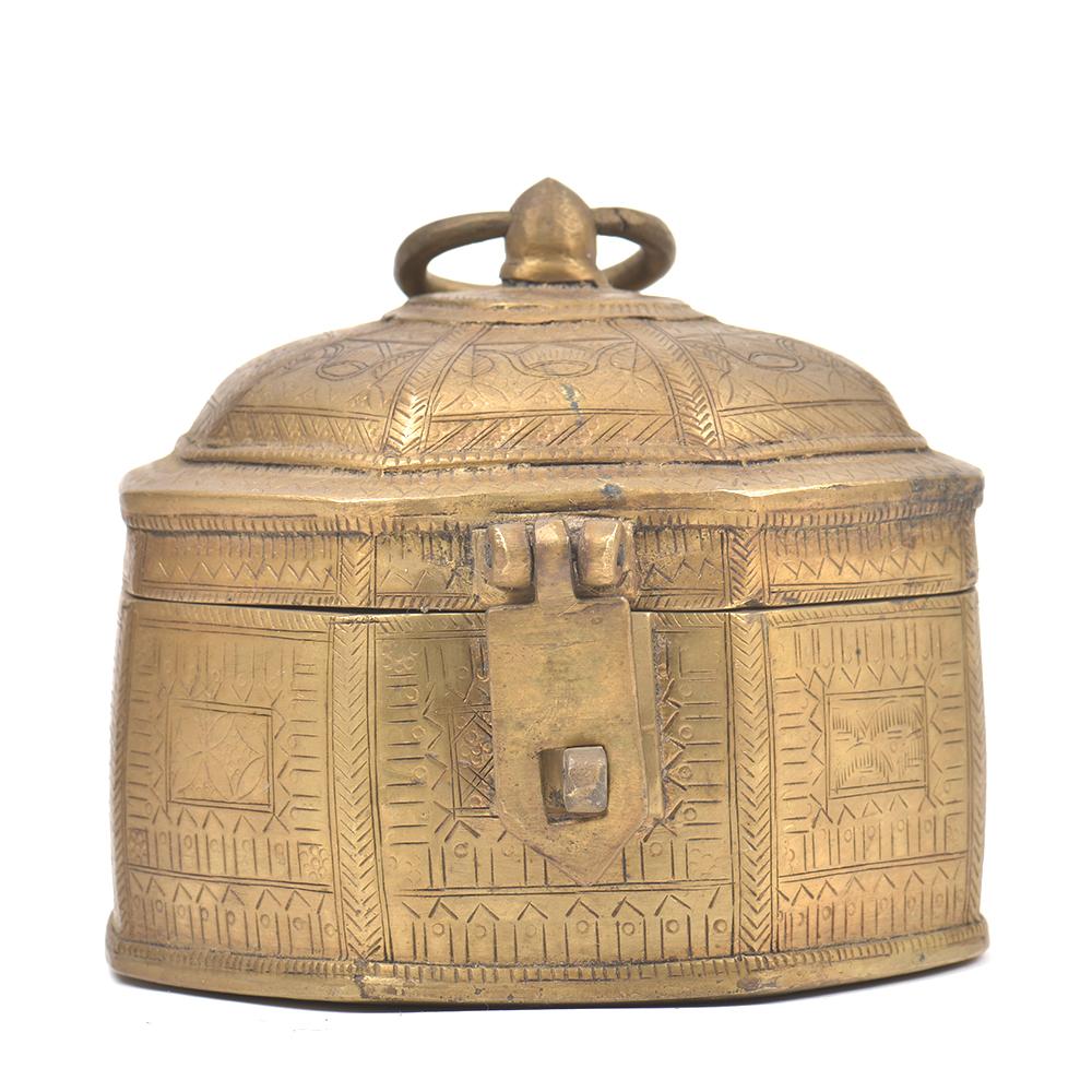 Bronze Octagonal Storage Box