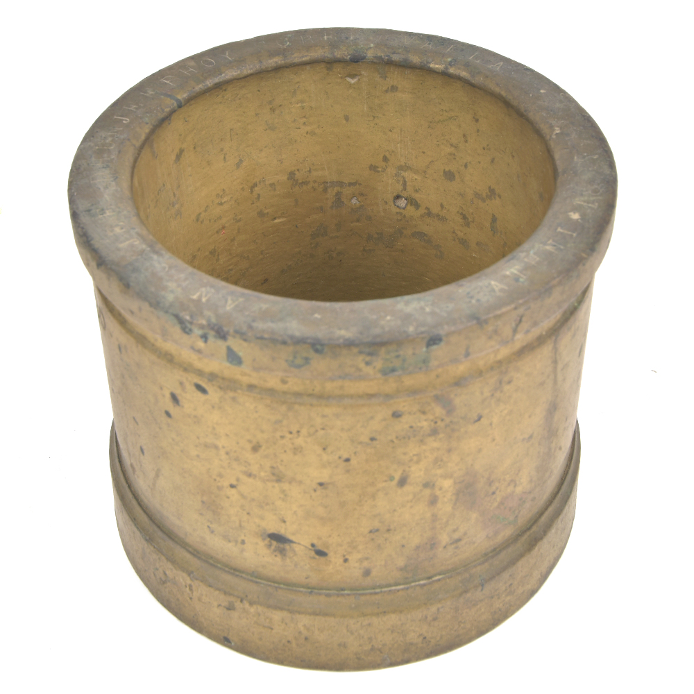 Bronze Indian Spice Grinder
